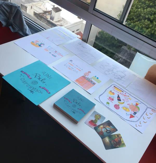 *Resultado del taller con una alumna de 10 años de edad, donde trabajaron en la creación de un libro.*