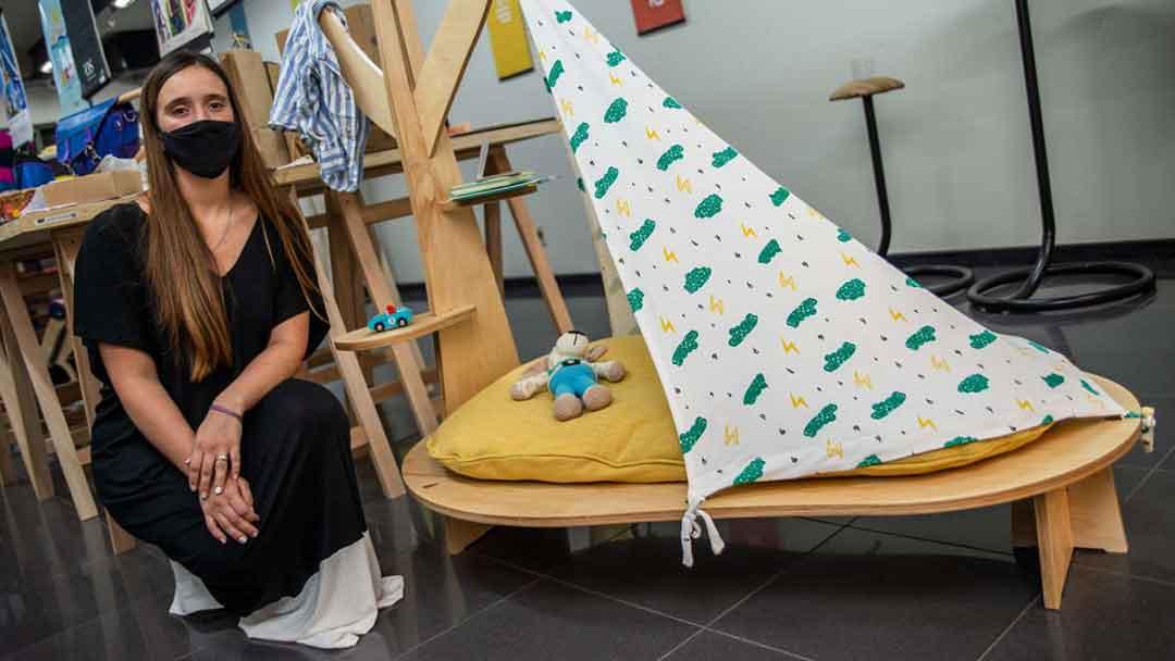 Mobiliario HUS, por Florencia Calo. Licenciatura en Diseño Industrial