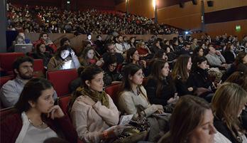 El público del SMD UY durante la segunda edición. Foto: Diego Olivera para la Universidad ORT Uruguay.