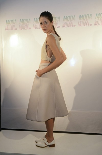 8cb148e1d62 El grupo de alumnas de séptimo semestre de la Licenciatura de Diseño de  Modas presentó ModaMotion.uy