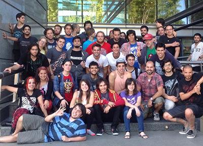 Grupo de la edición 2015 del GGJ. Foto: difusión.