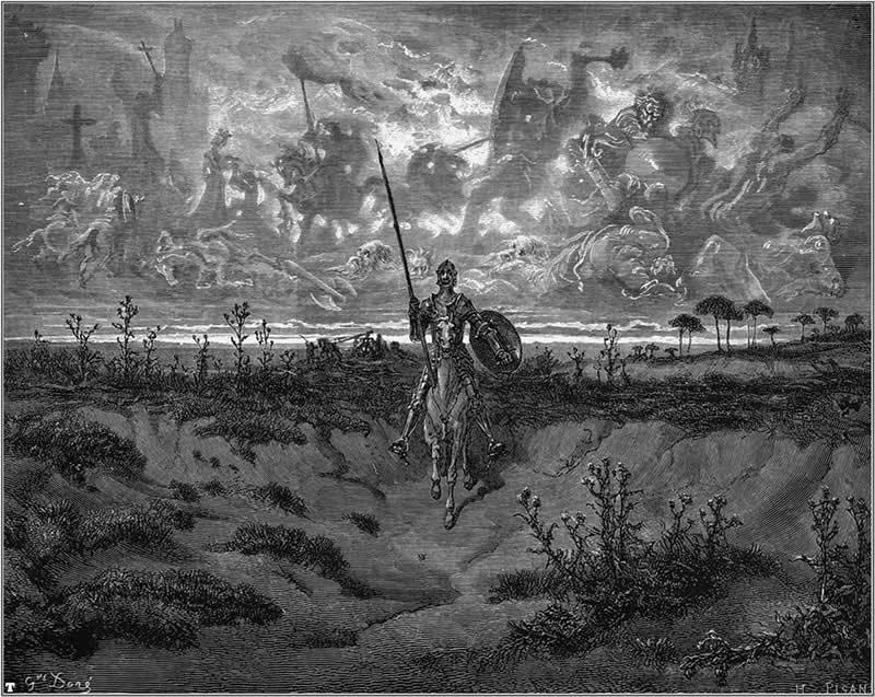 Ilustración realizada por Gustave Doré, de libre uso.