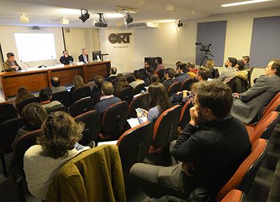 Presentación del Observatorio de Innovación en Comunicación Digital. Foto: Universidad ORT Uruguay.