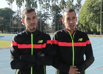 video_n|Los hermanos Cuestas durante la entrevista.
