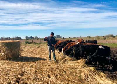 texto|Un día con un trabajador rural