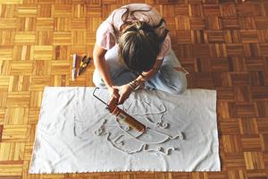 Ana Darracq desarrollando su Proyecto Integrador.