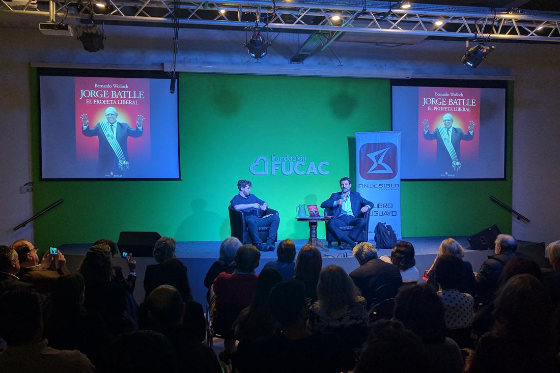 Bernardo Wolloch junto a Ignacio Zuasnabar. Foto: twitter.com/ComunicacionORT