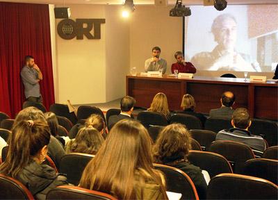 Presentación de Inmediaciones. Foto: Universidad ORT Uruguay.