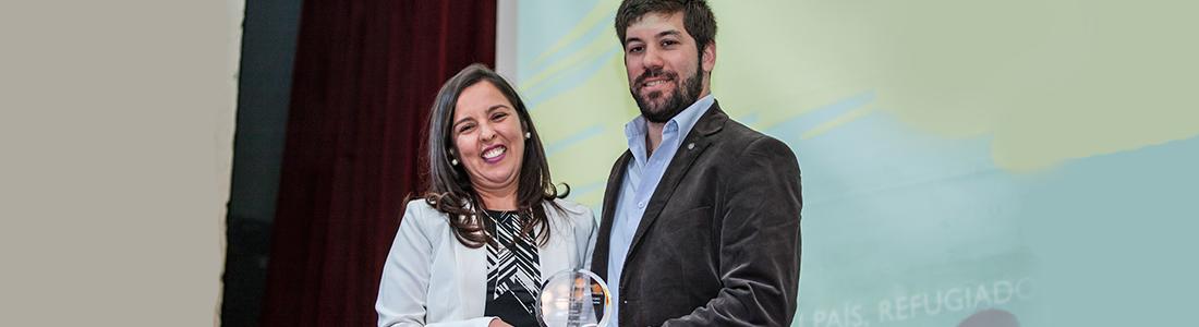 Graduado de ORT ganó el Premio Suramericano de Periodismo