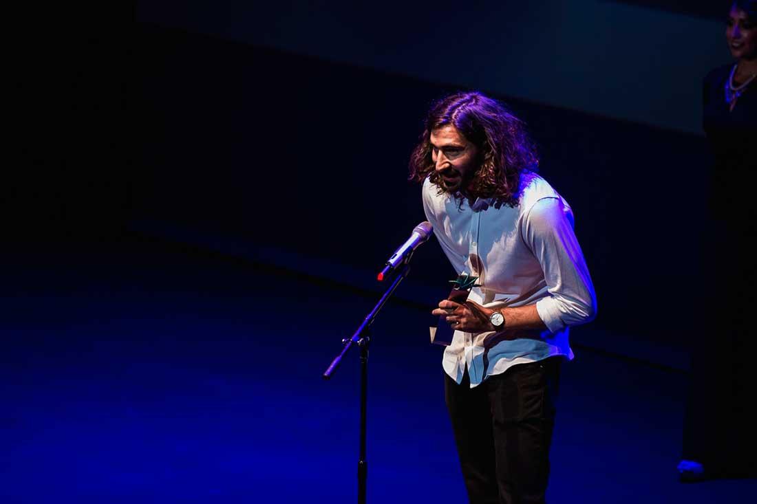 Lorenzo Tocco en el Festival Internacional de Guadalajara.