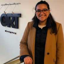María Pia Amorín. Periodismo.