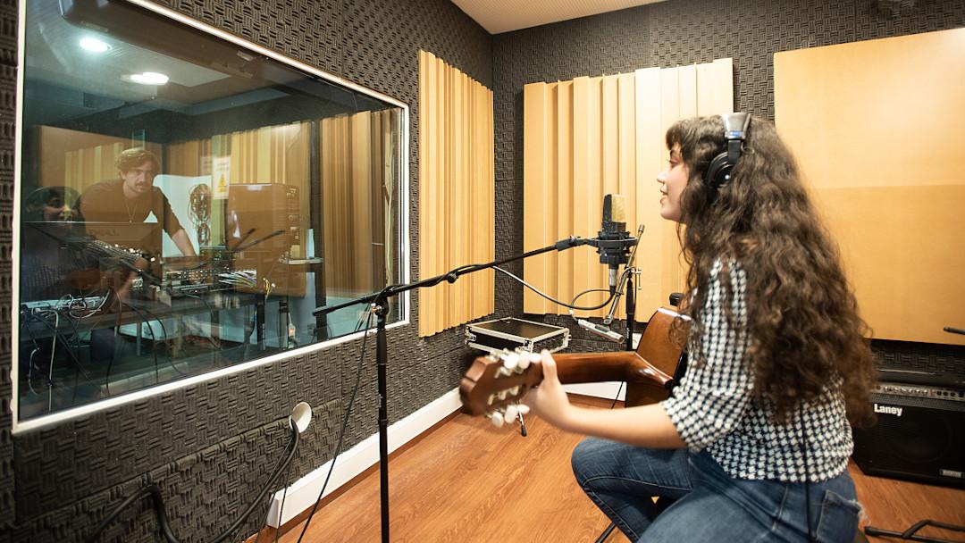 Estudios de grabación y mezcla