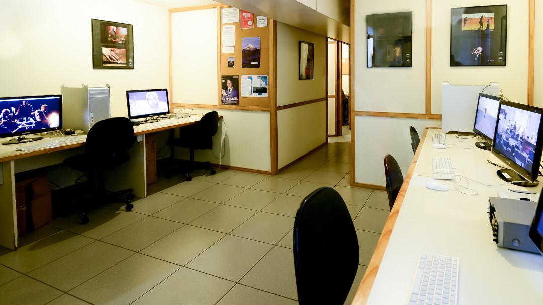 Sala de postproducción