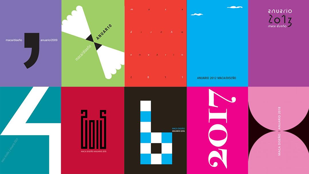 Anuarios Maca/Diseño