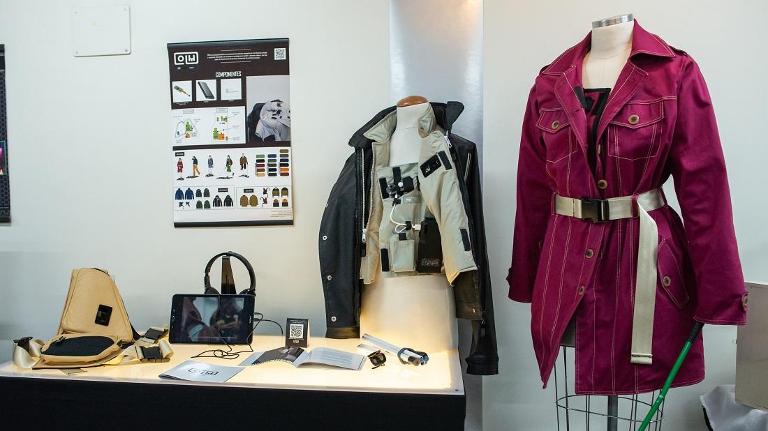 *Prendas inteligentes para Robotec. Proyecto de Pilar Martínez (Diseño de Modas).