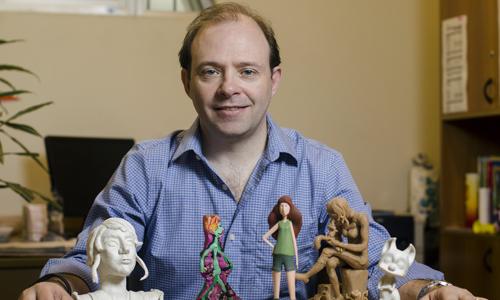 Alejandro Erramún, coordinador de la Licenciatura en Animación y Videojuegos
