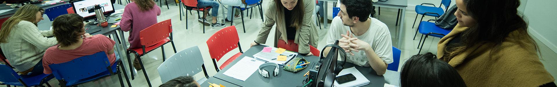 Estudiantes Facultad de Comunicación y Diseño